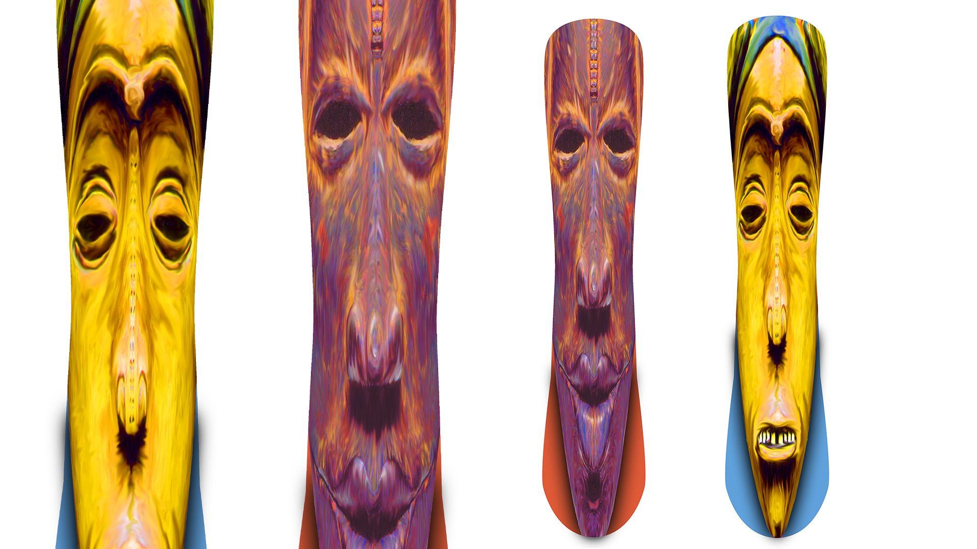 Michael-Russ-GmbH. Snowboards